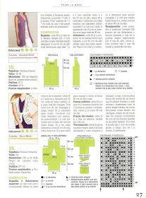 Solo esquemas y diseños de crochet: BLUSA LARGA