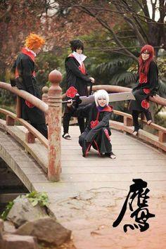 Suigetsu, Karin, Jugo, & Sasuke | Naruto Shippuuden #anime #cosplay