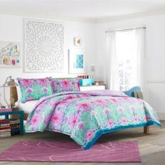 Light purple lavender comforter, teen bedroom colors, teal bedrooms, teen g Teen Vogue Bedding, Teen Bedding Sets, Comforter Sets, Teen Bedroom Colors, Teen Girl Bedrooms, Bedroom Decor, Bedroom Ideas, Teal Bedrooms, Girl Rooms