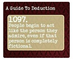 Suddenly it all makes sense Book Writing Tips, Writing Prompts, Sherlock Bbc, Guide To Manipulation, A Guide To Deduction, The Science Of Deduction, Psychology Says, How To Read People, Detective