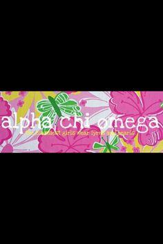 Alpha chi omega :)
