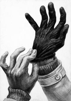 武蔵野美術大学 視覚伝達デザイン学科 多摩美術大学 グラフィックデザイン学科 合格者作品 | 芸大・美大受験 御茶の水美術学院 | OCHABI Dark Art Drawings, Graphite Drawings, Pencil Drawings, Hand Drawing Reference, Art Reference, Body Sketches, Art Sketches, Feet Drawing, Human Anatomy For Artists