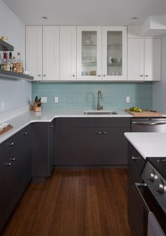 Light and Modern in Downtown Austin - contemporary - kitchen - austin ...