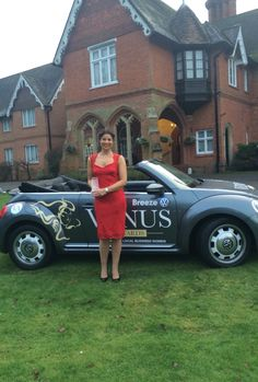 Venus awards @Audleys Wood Hotel New Business Winner Katy Handley-Quint