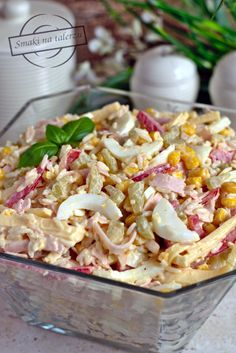 Pasta Salad, Macaroni And Cheese, Menu, Food And Drink, Cooking, Ethnic Recipes, Salads, Party Ideas, Popular Recipes