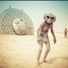 Burning Man 2014 Festival Instagram