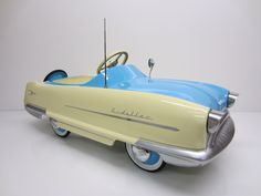 We stock many different varieties of reproduction pedal cars and ride on cars, and one of the largest inventories of pedal car parts. Lowrider Toys, Antique Toys, Vintage Toys, Car Jokes, Kids Bicycle, Derby Cars, Car Restoration, Power Cars, Kids Ride On