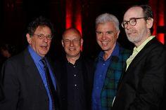 Philip Glass, Brian Eno, David Byrne, Arto Lindsay