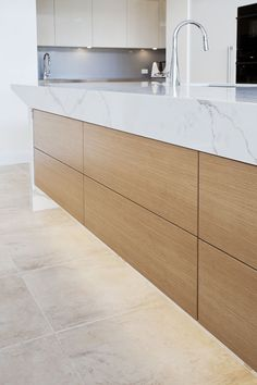 Complete Home Fit-outs Cabinet Makers New Kitchen Designs, Kitchen Images, Kitchen Photos, High End Kitchens, Engineered Stone, Calacatta, Cabinet Makers, Hidden Storage, Kitchen Styling