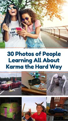 Karma Chameleon: 30 People Who Learned About Karma the Hard Way Sometimes people get exactly what they deserve, and that's called karma. These 30 funny photos show that some people deserve to learn about karma the hard way. #funny #fails #humour #memes