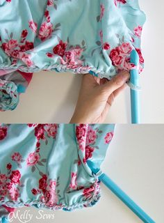 ce7e27f14a How to do a braided edge - This beautiful knit fabric is almost a no sew  blanket project! So pretty