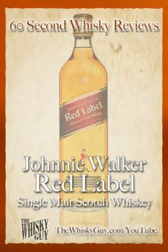 Should you spend your money on Johnnie Walker Red Label Blended Scotch Whisky?…