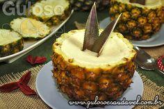 mousse de ananas light