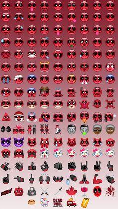 Official Deadpool Emojis Revealed
