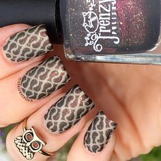 Whats Up Nails - Thorns Stencils from WhatsUpNails.com @whatsupnails