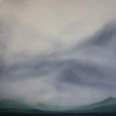 Koen Lybaert - Oldchurch Bay [Landscape N°082] - oil on canvas [100 x 100 x 2] / 2014