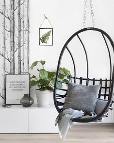Can't resist a Hanging Chairs