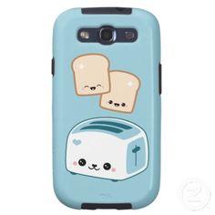 Cute Toast Samsung Galaxy S3 Cover