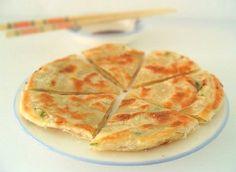 Green Onion Pancake – Vegetarian, Gluten Free, Vegan, Healthy