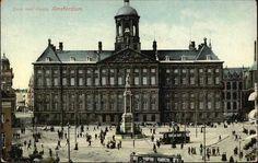 Amsterdam, Dam Square, Kingdom Of The Netherlands, The Province, Venice, Holland, Nostalgia, World