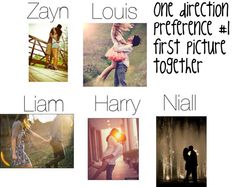 """One direction preference #1"" by jennammannion ❤ liked on Polyvore"