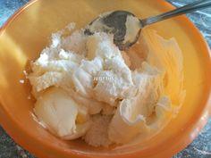 Egyszerű karamellkrémes csíkos szelet - sütés nélkül recept lépés 2 foto Nutella, Soup, Ethnic Recipes, Soups