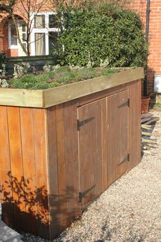 planted shed roof - Google Search