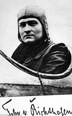 """Rare photos of Manfred Von Richtofen, the """"Red Baron"""" discovered in a UK garage sale for 20 pounds"""