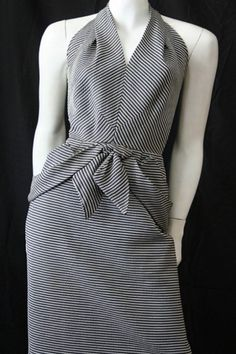 Australian online vintage clothing store specialising in authentic dresses. Browse our quality vintage clothing from to shipping 50s Dresses, Vintage Dresses, Vintage Outfits, Dresses For Work, Vintage Clothing Online, Vintage Couture, Straight Skirt, Wiggle Dress, Striped Fabrics