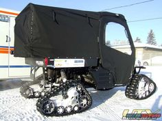 Polaris Ranger on tracks Side By Side Accessories, Utv Accessories, Motorcycle Equipment, Motorcycle Touring, Girl Motorcycle, Motorcycle Quotes, Track Pictures, Dirt Bike Girl, Terrain Vehicle