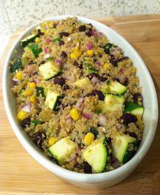 Annie's Gluten Free Grub: Southwestern Quinoa Bake