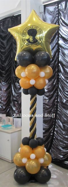 Balloon Backdrop, Balloon Decorations Party, Balloon Columns, Balloons, Wedding Decorations, Peaky Blinders Theme, Casino Party, Casino Night, Prom Themes