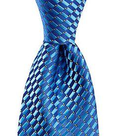 Ted Baker Checker Board Micro Silk Tie