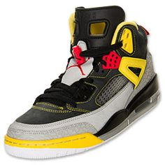 Drawing on the iconic styles that have helped shape footwear for years, the Jordan Spizike Men's Basketball Shoe is a hybrid of epic proportions. Taking the best of the Jordan III, IV, V and VI and peppering in some stylistic input from director Spike Lee, the Spizike is a sleek tribute to footwear innovation and artistic creativity. With Air-Sole units in the heel and forefoot to absorb impact, this sneaker is as comfortable on the court as it in the street.FEATURES: