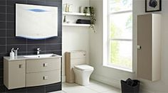 When a full family is sharing a bathroom, it can be easy for things to get messy and cluttered. Adding in lots of storage furniture can help to keep your bathroom looking neat. Click through for more tips on how to design the perfect family bathroom! Basin Vanity Unit, Bathroom Vanity Units, Bathroom Furniture, Horizontal Designer Radiators, Vertical Radiators, Family Bathroom, Modern Bathroom, Flat Panel Radiators, Heating And Plumbing