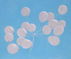"""기진호의 홈페이지 Saatchi Art Artist Jinho Kee; Painting, """"balloons-hope"""" #balloon, #Mementomori, #SouthKorea, #life, #hope, #dream, #realism, #photorealism, #carpediem, #painting, #JinhoKee #oilpainting #love  #exhibition #painting #finearts #saatchi"""
