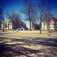 A nice shot of our favorite campus by @michaelameel '15. Happy Monday, Pios! #carrollu #carrolluniversity