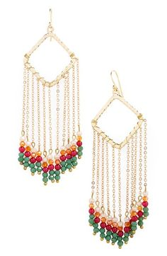 Panacea Beaded Pendant Earrings available at #Nordstrom