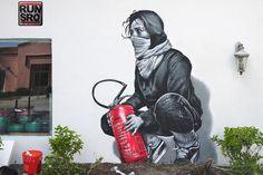 Mateo est un artiste de street art qui laisse derrière lui de magnifiques…