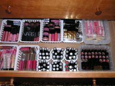 Como organizar cosmeticos