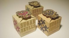 Sugar Skulls by samantha-smashbox on DeviantArt