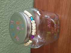 another memory jar possibility Mason Jar Crafts, Mason Jars, Memories, Recipe, Girls, Memoirs, Souvenirs, Daughters, Canning Jars