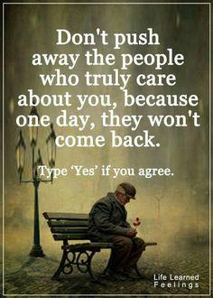 Don't push people away