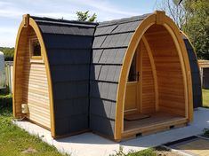 A range of camping pods including wooden camping pods, camping cabins and huts. A new cheap pod to try.