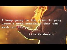 Ella Henderson- Ghost. Probably one of my absolute favorite songs at the moment. This girl has a voice!