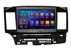 Saita Quad Core 10.2 Inch In-dash Automotive Stereo Video Participant 2 Din 1024x600 GPS Nav Sat for Mitsubishi Lancer Galant with Wifi Bluetooth Radio Wor