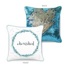 You/'re In My Spot Magic Reveal Sequin Cushion Cover Gift Funny Geek TV Series