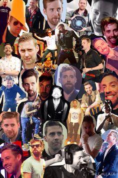 Ricky Wilson I'm so making something like this 😍😍 Richard Wilson, Ricky Wilson, Leeds, Kaiser Chiefs, James Martin, Hot Guys, Hot Men, Folk, Singer