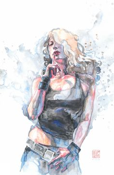 Jessica Jones: Alias Trade Paperback Vol. 3 Cover Art by David Mack (2015) Comic Art