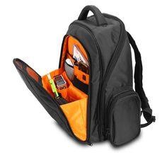 20l - UDG Ultimate Backpack Black/Orange Inside - €129.95 - 17' laptop